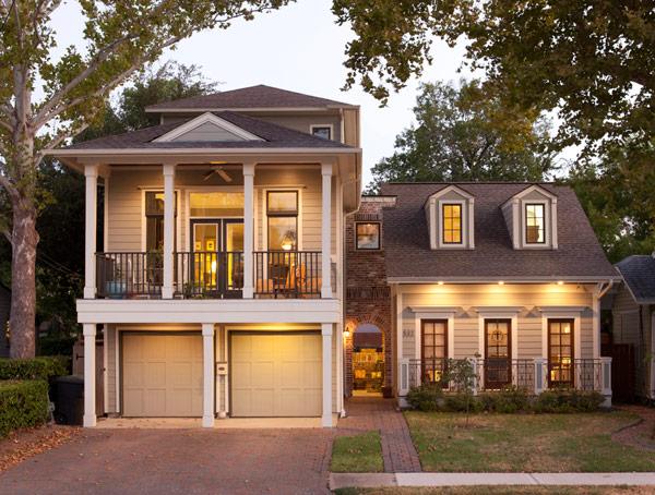 Custom green homes green architects houston tx for Custom home plans houston
